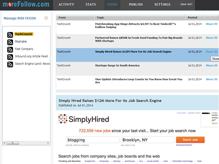 manage your rss feeds