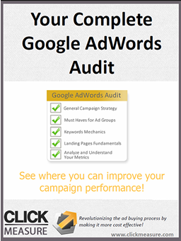 Google AdWords Audit eBook
